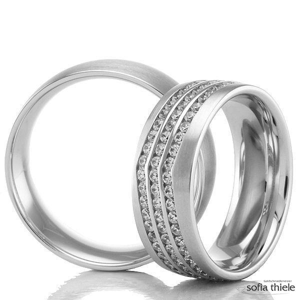Trauringe Gold Paar 02-50130-140