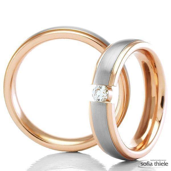 Trauringe Gold Paar G-20504-5