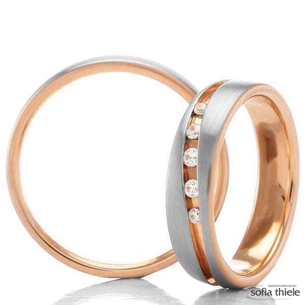 Trauringe Gold Paar G-28655-5